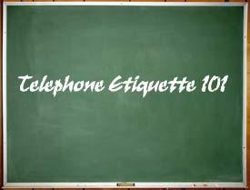 5 Telephone Etiquette Tips - Staff Training